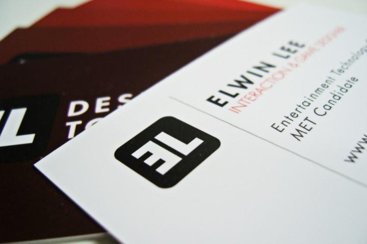 Elwin Lee - Business Card (close up)