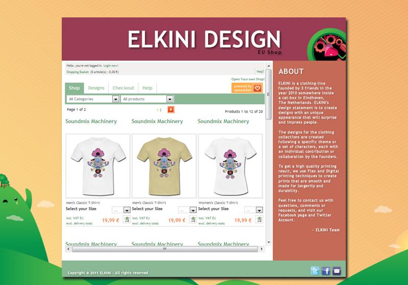 ELKINI Webshop