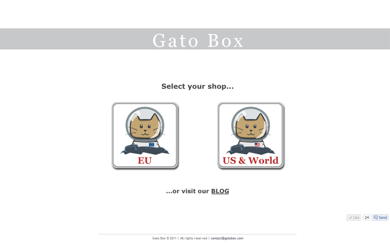 GatoBox Webshop